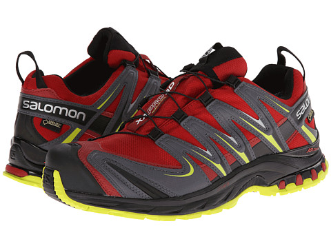 Salomon - XA PRO 3D GTX (Flea/Dark Cloud/Gecko Green) Men
