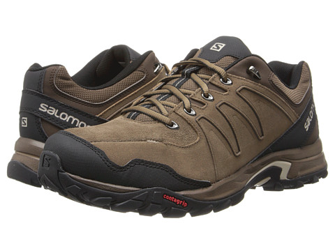 Salomon - Eskape LTR (Burro/Absolute Brown/Black) Men's Shoes