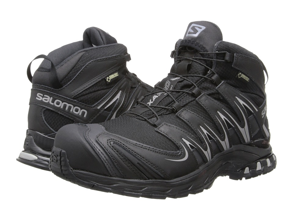 Salomon - XA PRO Mid GTX (Black/Asphalt/Pewter) Men's Hiking Boots