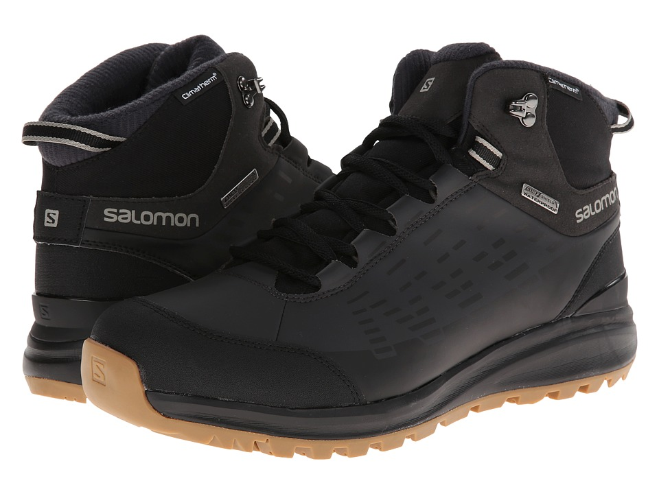 Salomon - Kaipo CS WP (Black/Asphalt/Titanium) Men's Shoes