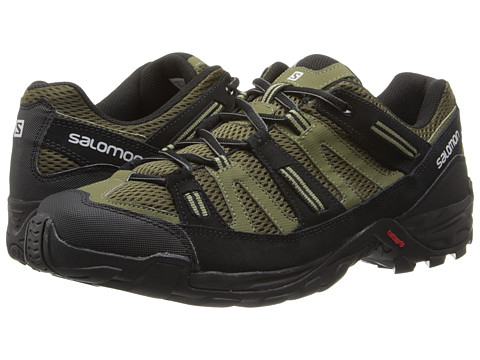 Salomon - Cherokee (Dark Khaki/Iguana G/Nile G) Men's Shoes