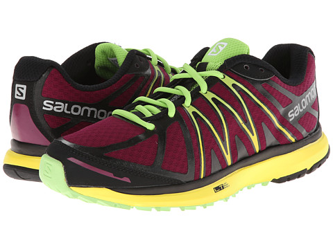 Salomon - X-Tour (Mystic Purple/Canary Yellow/Firefly Green) Women