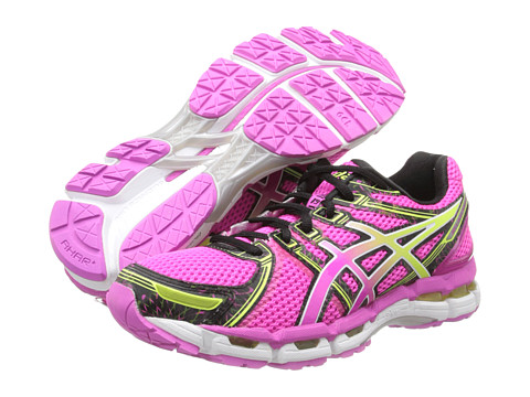 ASICS GEL-Kayano 19 (Neon Pink/Sunshine/Black) Women's Running Shoes