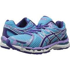 ASICS GEL-Kayano 19 (Turquoise/Grape/White) Women's Running Shoes