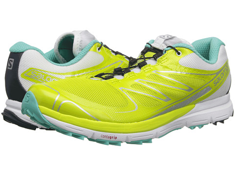 Salomon - Sense Pro (Gecko Green/White/Softy Blue) Women