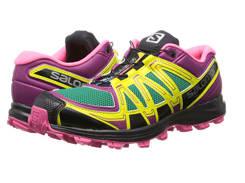 Salomon - Fellraiser (Mystic Purple/Hot Pink/Emerald Green) Women's Shoes