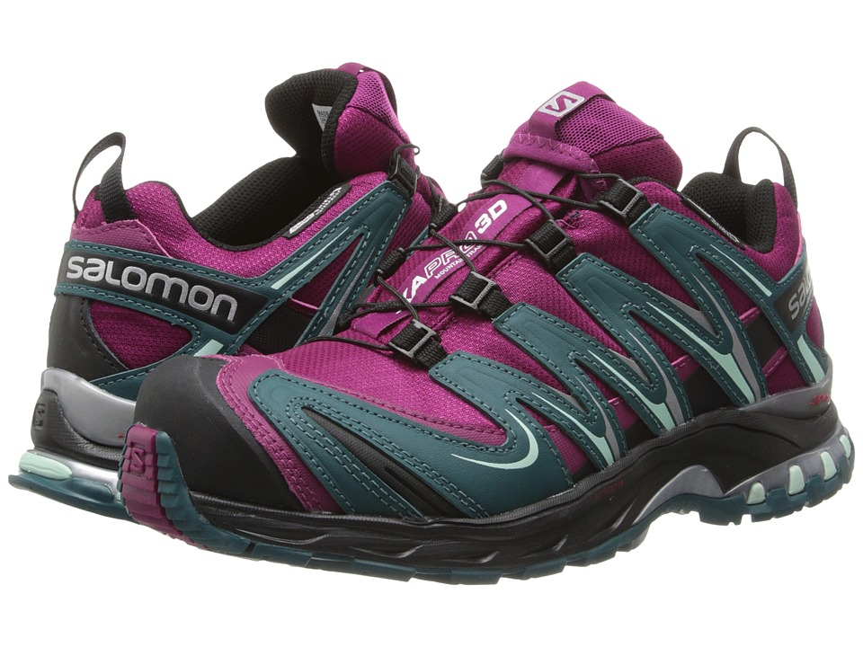 Salomon - XA PRO 3D CS WP (Mystic Purple/Cobalt Blue/Black) Women's Shoes