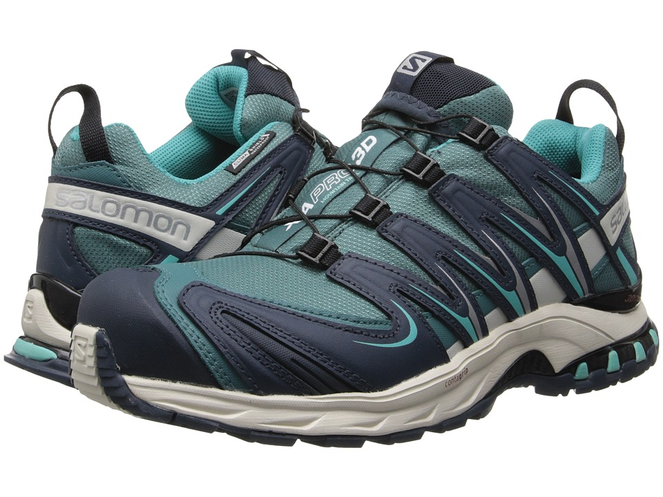 Salomon - XA PRO 3D CS WP (Horizon Blue/Deep Blue/Softy Blue) Women's Shoes