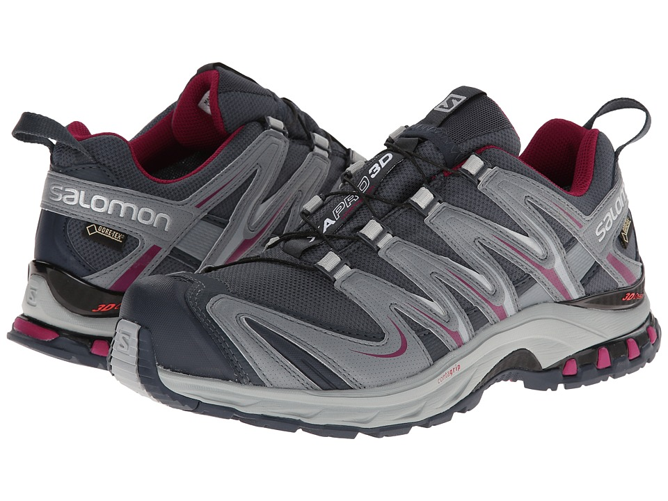 Salomon - XA PRO 3D GTX (Grey Denim/Pearl Grey/Mystic Purple) Women