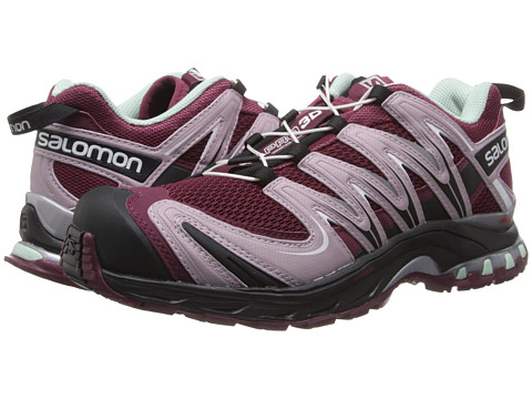 Salomon - XA Pro 3D (Bordeaux/Crocus Purple/Black) Women's Running Shoes