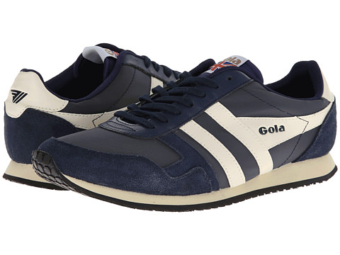 Gola - Spirit (Navy/Navy/Ecru) Men's Shoes