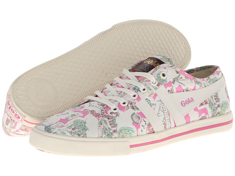 Gola - Jasmine Liberty IW (Ecru/Pink) Women's Shoes