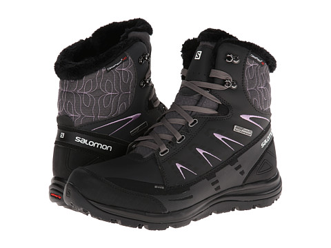 Salomon - Kaina Mid CS WP (Autobahn/Asphalt/Crocus Purple) Women