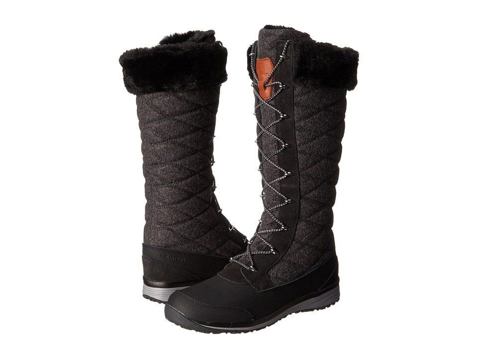Salomon - Hime High (Black/Asphalt/Pewter) Women's Shoes