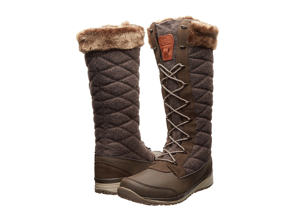 Salomon Hime High (Absolute Brown/Shrew/Sand) Women