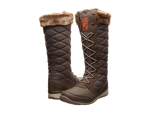 Salomon - Hime High (Absolute Brown/Shrew/Sand) Women