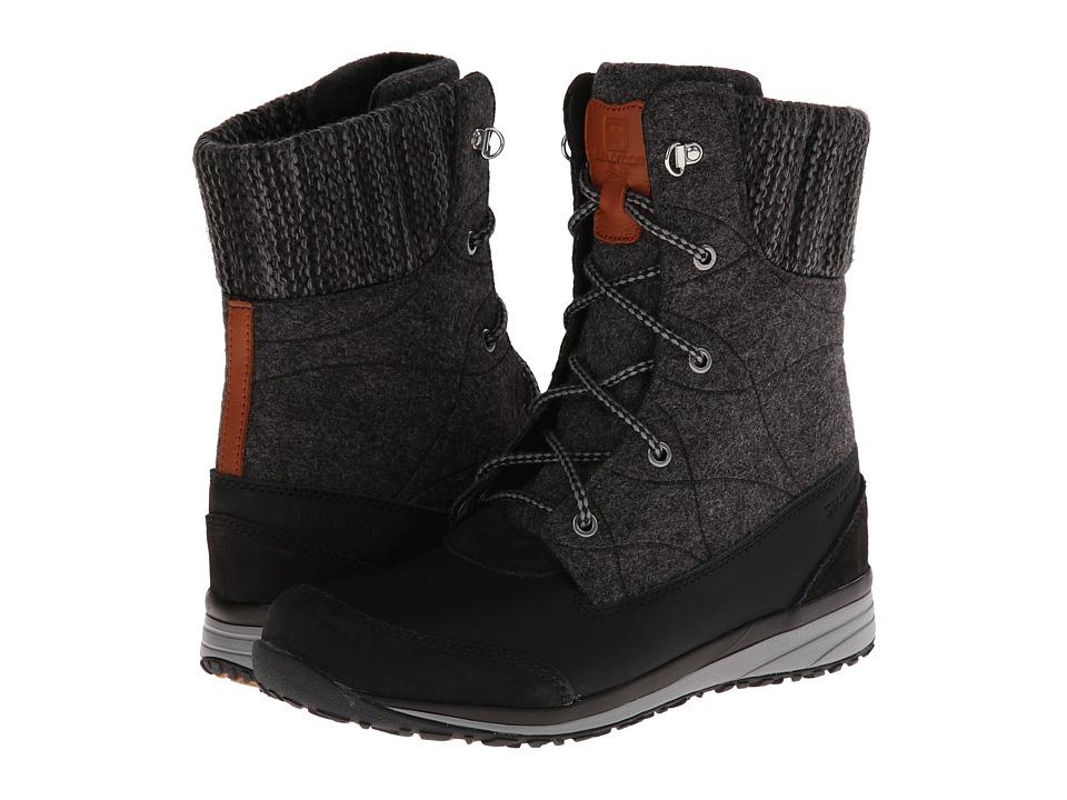 Salomon - Hime Mid (Black/Asphalt/Pewter) Women's Shoes