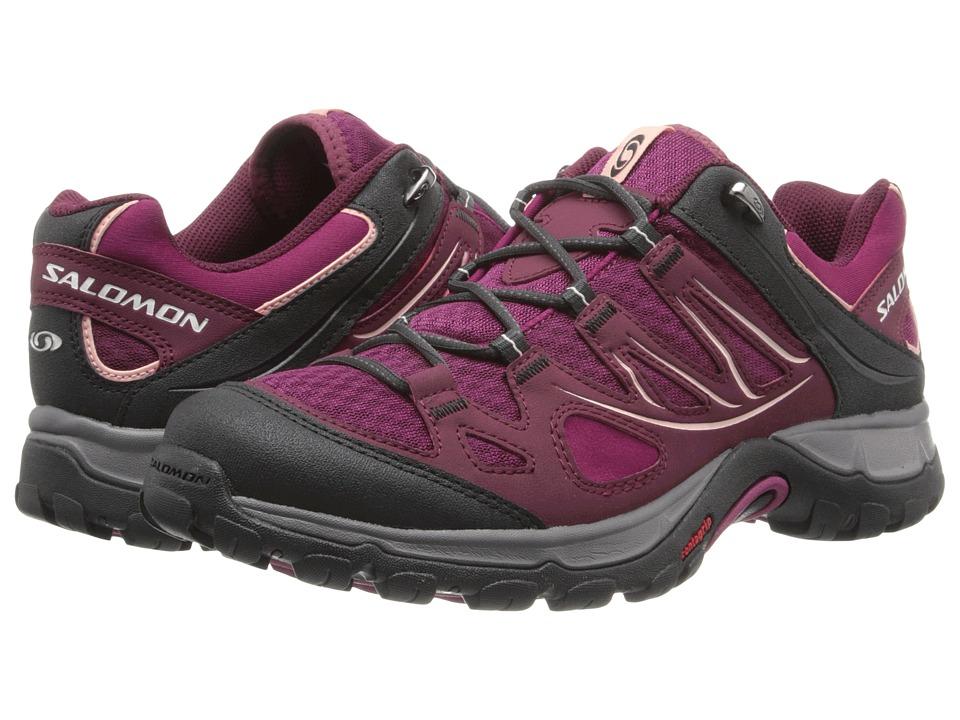 Salomon - Ellipse Aero (Mystic Purple/Bordeaux/Mallow Pink 2) Women's Shoes