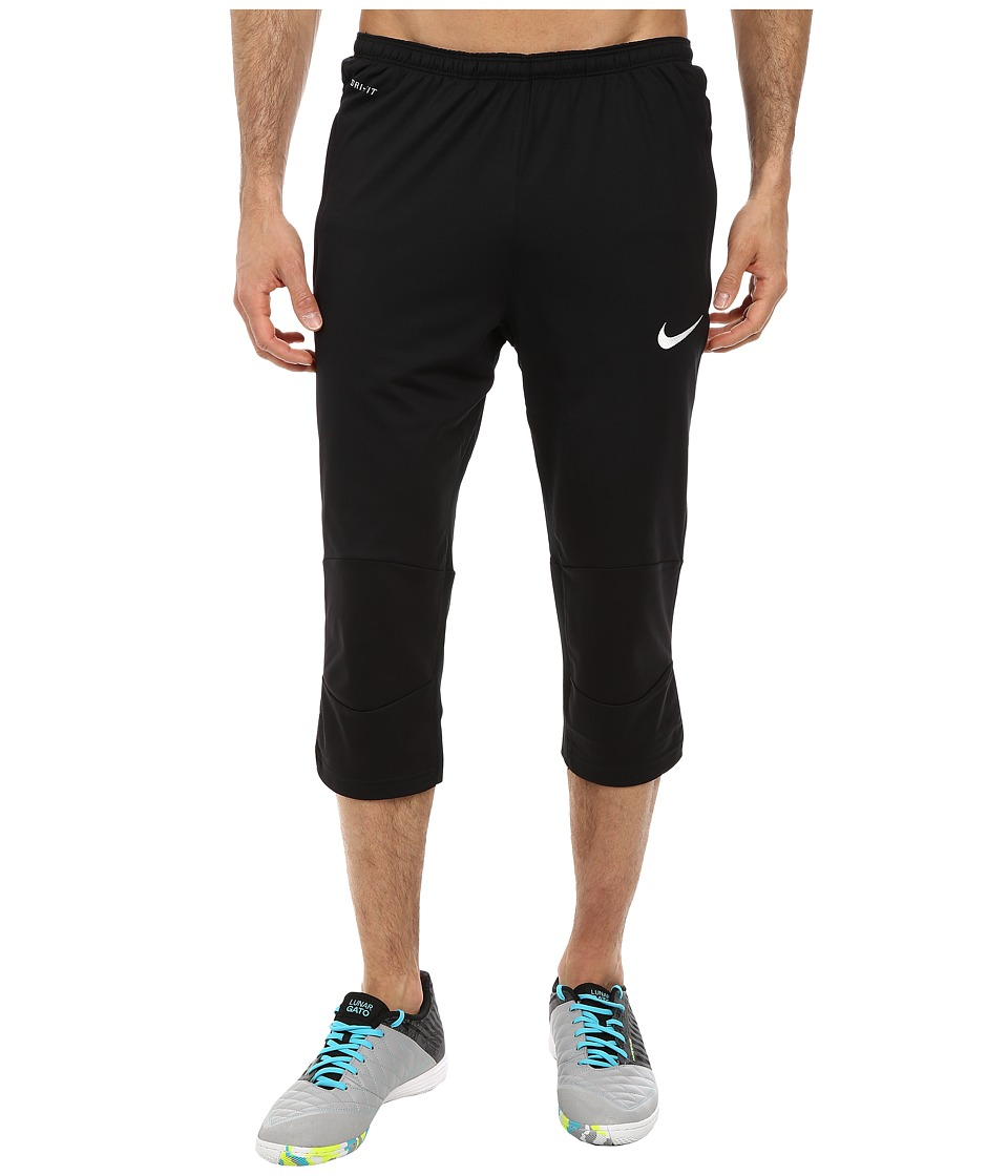 Nike - Squad Attack 3/4 Tech Pant WP (Black/White) Men's Workout