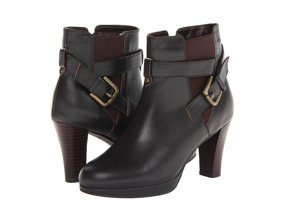 Fitzwell - Django Short Boot (Dark Brown Calf) Women