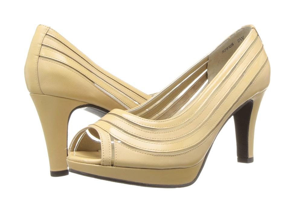 Rose Petals - Poet (Eggshell Mesh) Women's Shoes