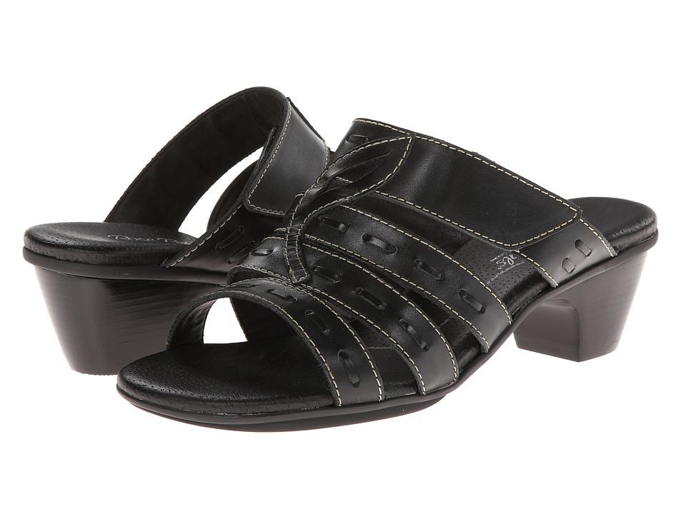 Rose Petals - Range (Black Soft Maia) Women's Shoes