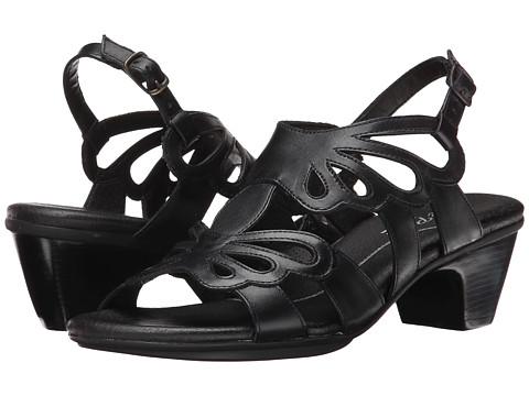 Rose Petals - Rouge (Black Soft Maia) Women's Dress Sandals