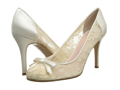 Kate Spade New York - Katerina (Ivory Lace/Satin) Women's Shoes