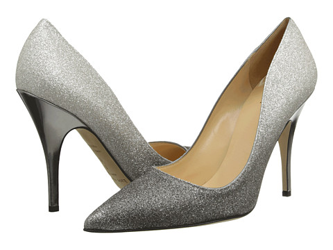 Kate Spade New York - Licorice (Pewter Degrade Glitter/Aluminum Specchio) High Heels
