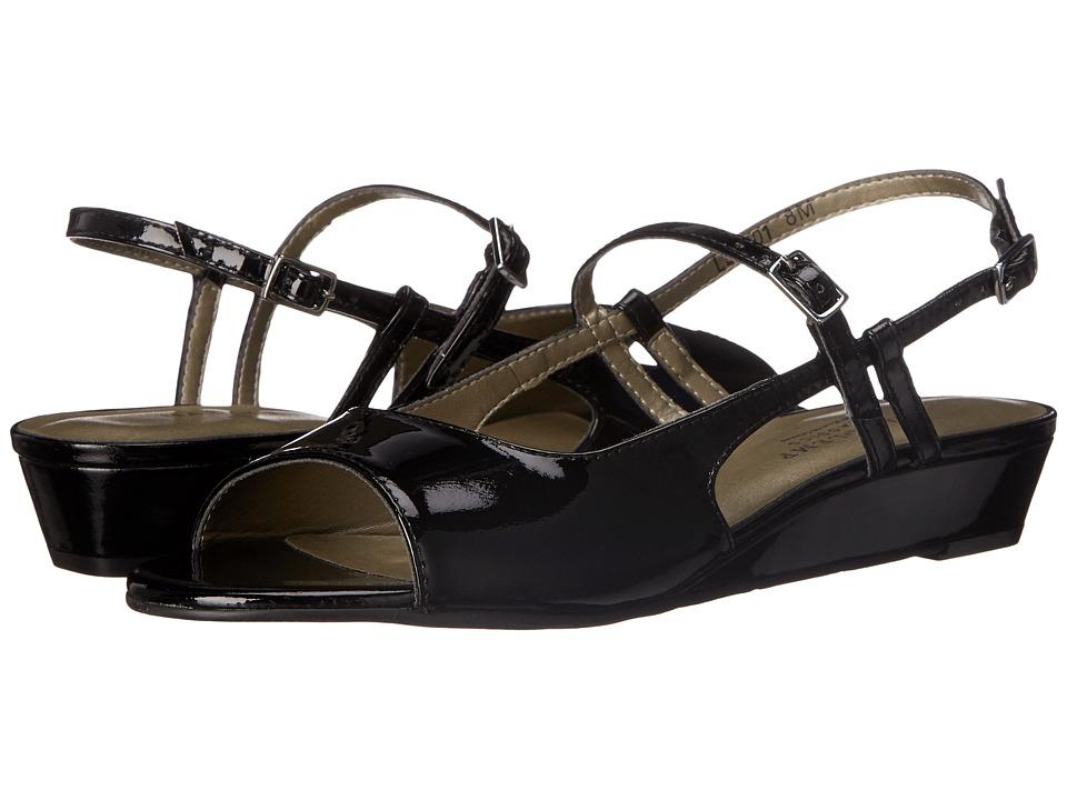 Rose Petals - Jillian (Black Soft Patent) Women's Shoes