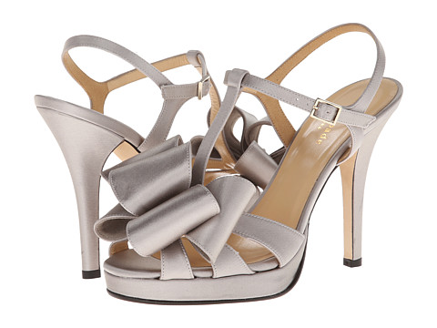 Kate Spade New York - Ribbon (New Grey Satin) High Heels
