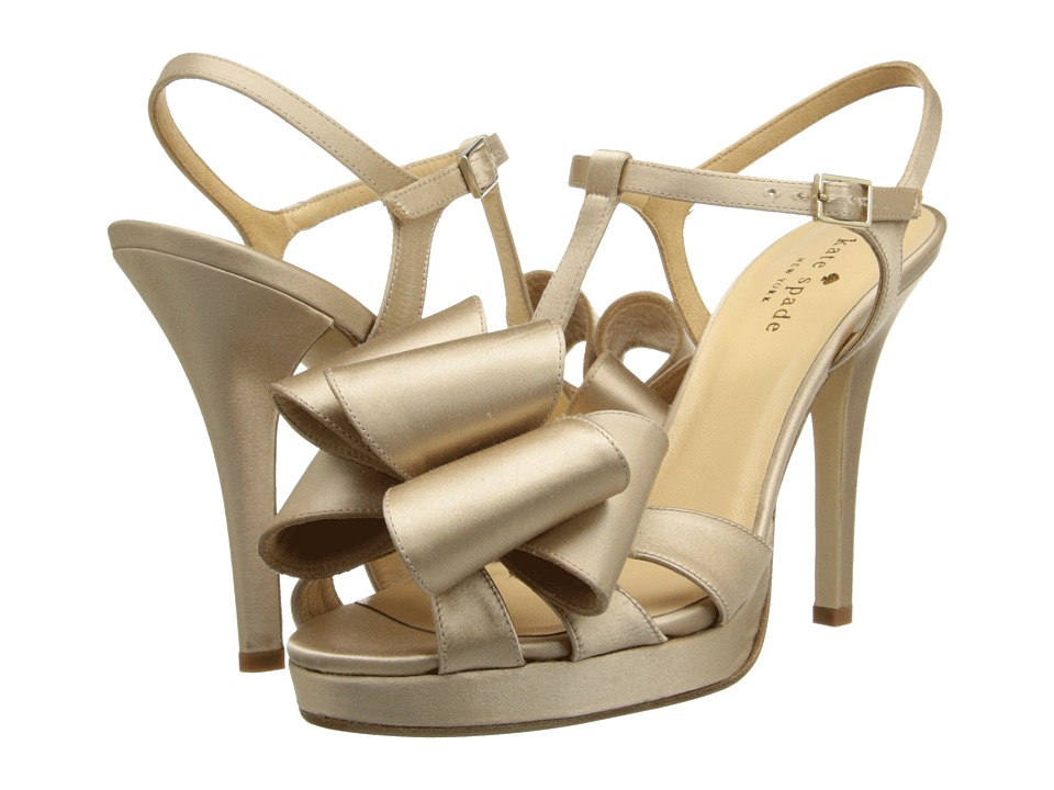 Kate Spade New York - Ribbon (Champagne Satin) High Heels