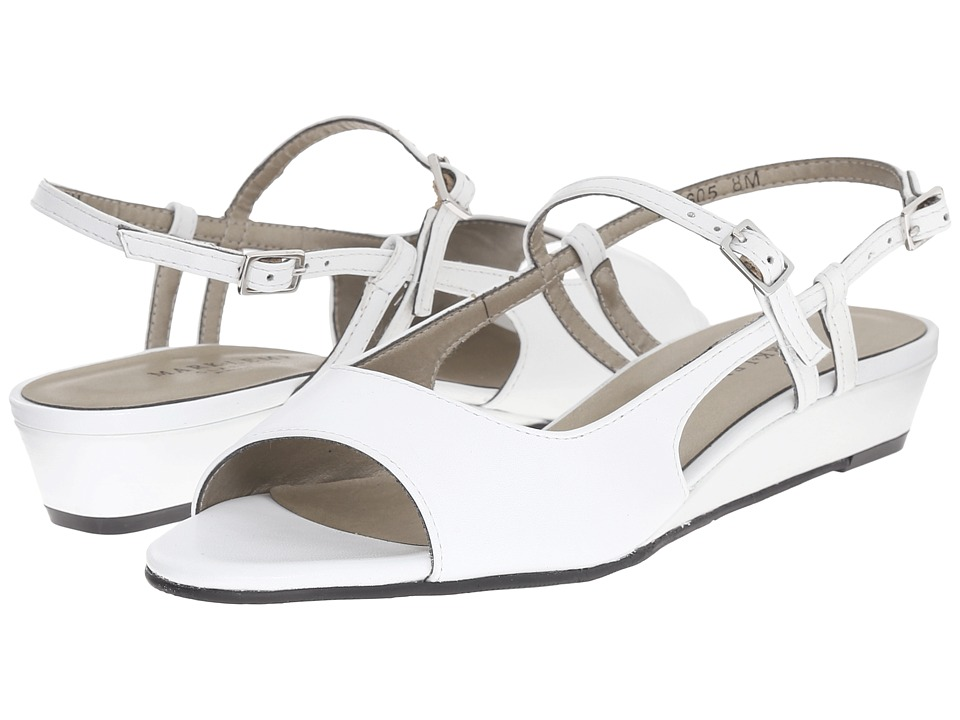 Rose Petals - Jillian (White Nappa) Women's Shoes