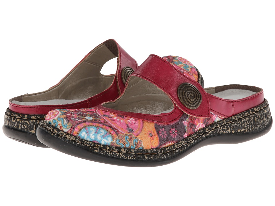 Rieker - 46385 Daisy 85 (Multi Pink) Women's Shoes