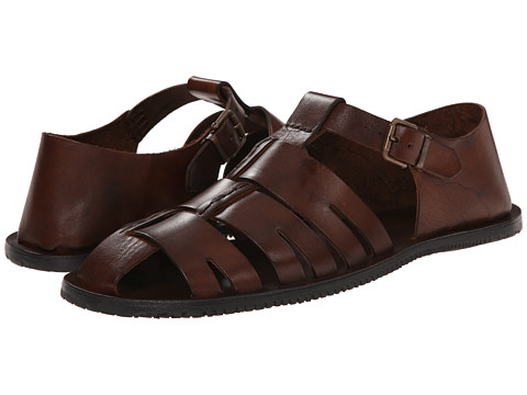 Massimo Matteo - Fisherman (Marrone) Men's Sandals