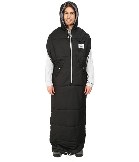 Poler - The Napsack Wearable Sleeping Bag (Black) Outdoor Sports Equipment