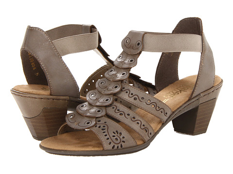 Rieker - 67357 Aileen 57 (Whitekiesel) Women's Sandals