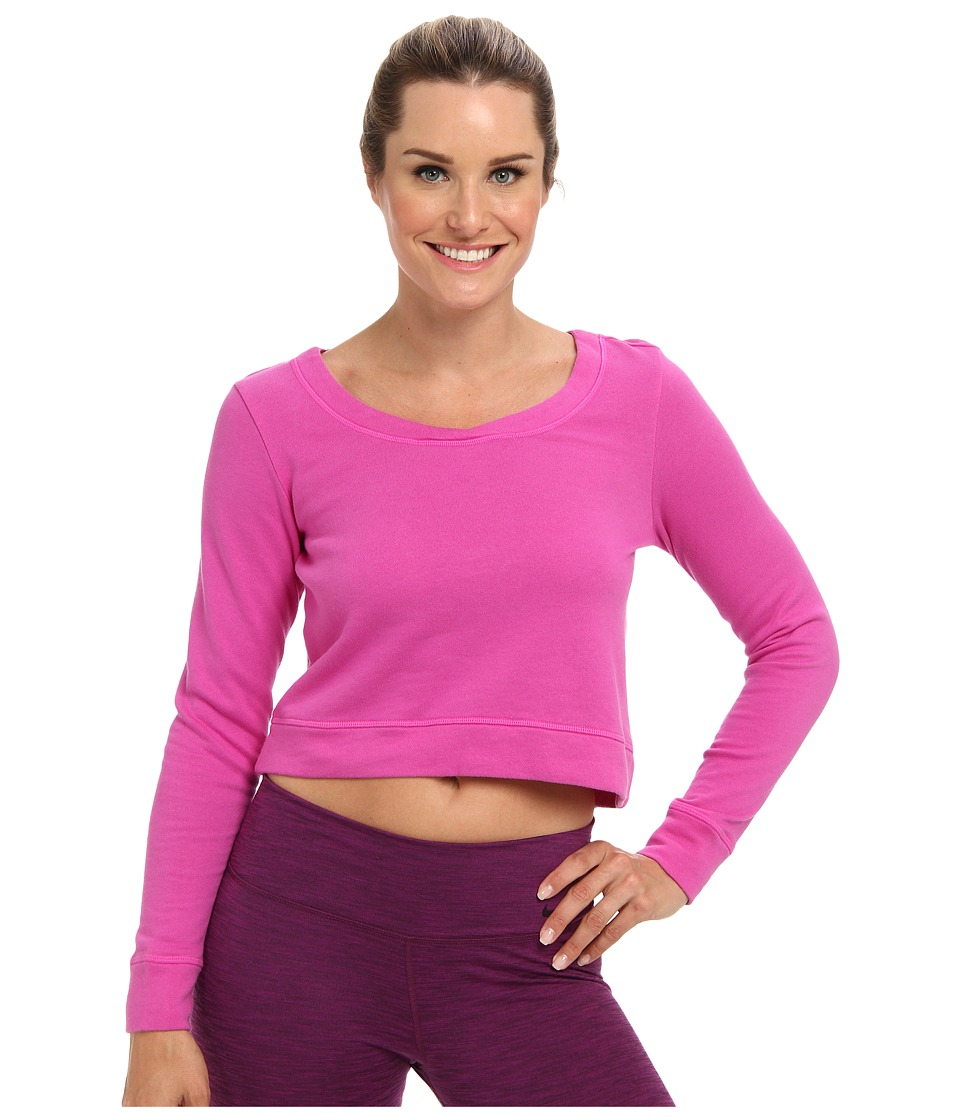 Lucy - Feel The Beat Pullover (Pink Dawn) Women