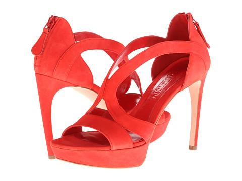 Alexander McQueen Armadillo Sandal 105mm (Red) High Heels