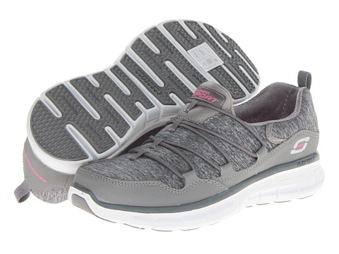 SKECHERS - Asset Play (Gray) Women