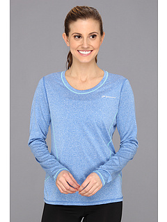 SALE! $15.99 - Save $22 on Brooks Versatile EZ L S (Heather Neptune) Apparel - 57.92% OFF $38.00