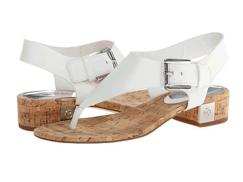 MICHAEL Michael Kors - London Thong (Optic White) Women's Sandals