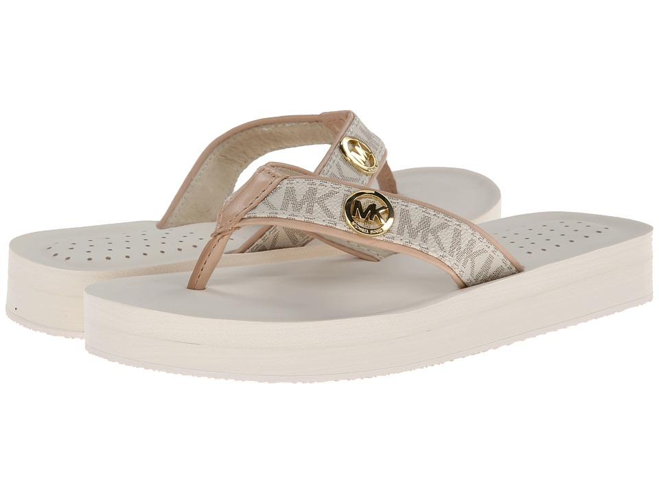 MICHAEL Michael Kors - Gage Flip Flop (Vanilla) Women's Sandals