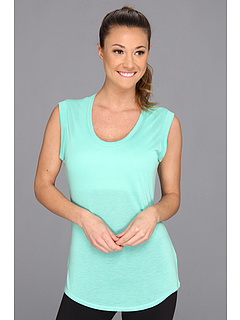 SALE! $14.99 - Save $27 on ALO Rolled Cuff Tunic (Pacific) Apparel - 64.31% OFF $42.00