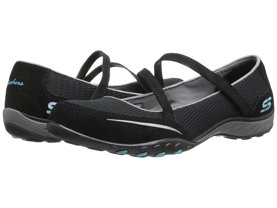 SKECHERS - Relaxed Fit - Quittin' Time (Black) Women's Maryjane Shoes
