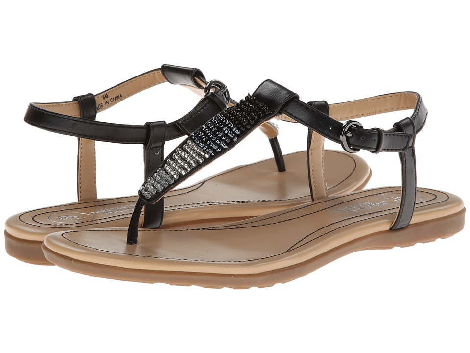 Mootsies Tootsies - Mozavia3 (Black Synthetic) Women's Sandals