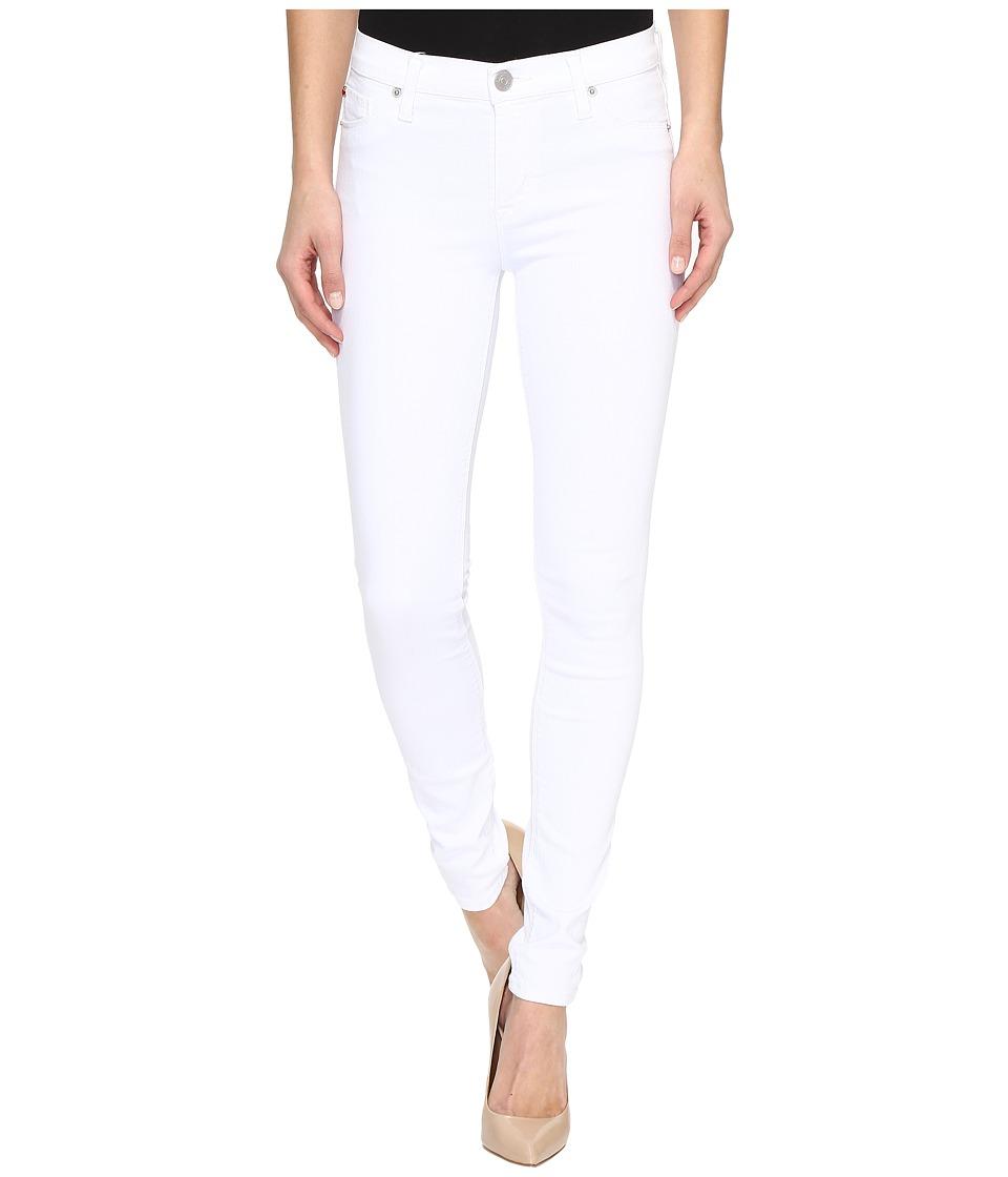 Hudson - Nico Mid-Rise Super Skinny in White (White) Women