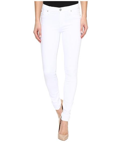 Hudson - Nico Mid-Rise Super Skinny in White (White) Women's Jeans