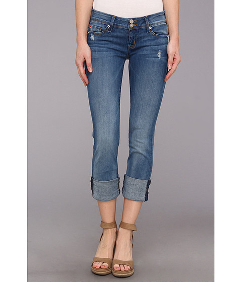Hudson - Ginny Crop Straight Cuffed in Voodoo Child (Voodoo Child) Women's Jeans