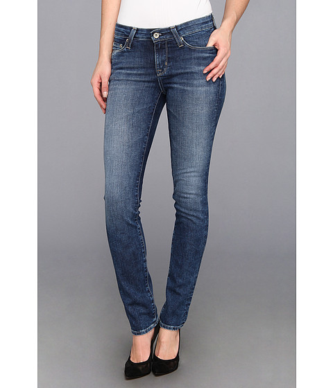 Big Star - Bridgette Slim Straight Jean in 10 Year Ocean (10 Year Ocean) Women